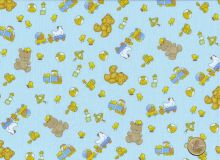 Windham Fabrics - Cutie Pie - Teddybears light blue
