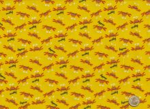Free Spirit - Beach crabs flannel yellow