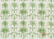 Makower - Fern Garden Palm Green