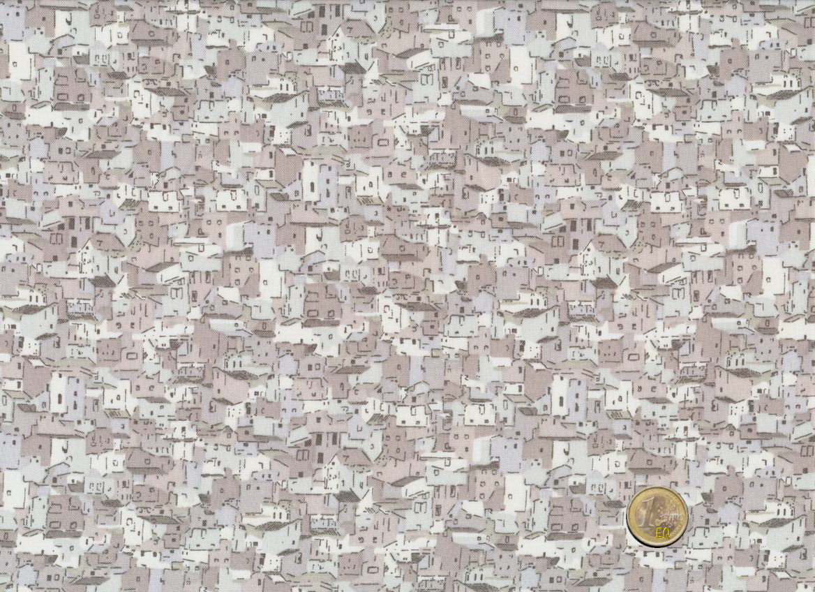 Stof Fabrics Quilters Coordinates Houses Eifelquilts