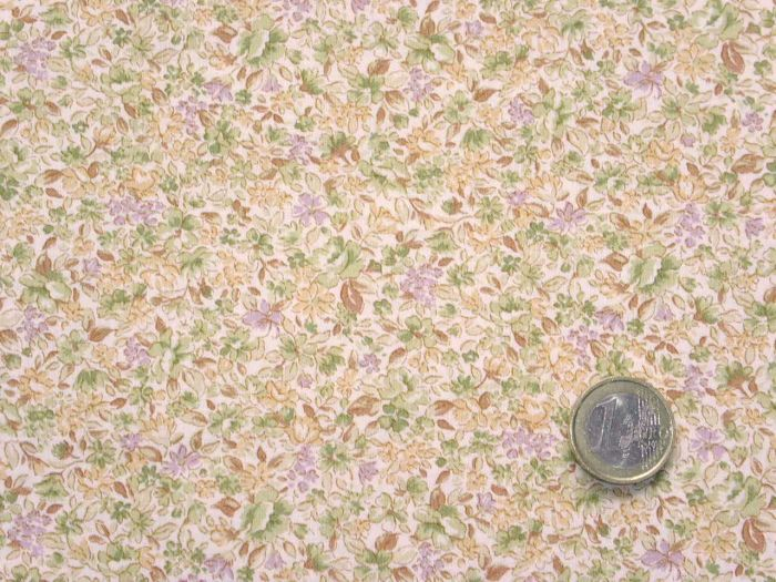Quilt Gate - Flowering Field - lilac and brown