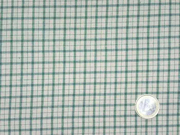 Stof/AS - diamonds in light green and cream