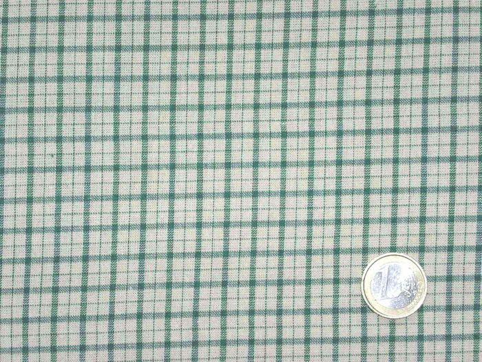 Stof/AS - Karos hell grün - beige