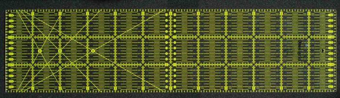 Omnigrid - ruler 15 x 60 cm