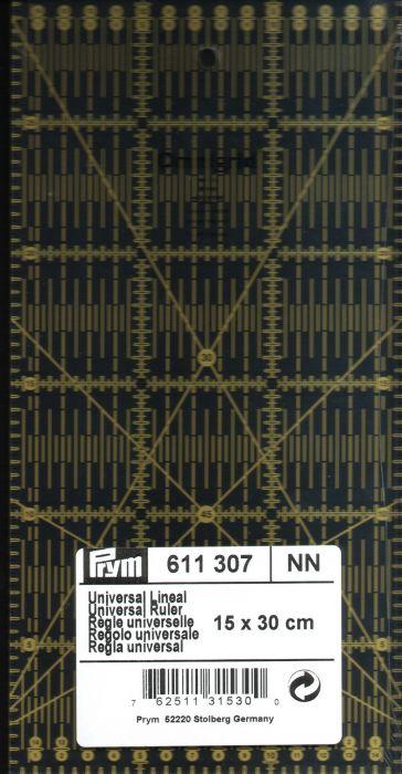 Prym - Omnigrid ruler 15 x 30 cm