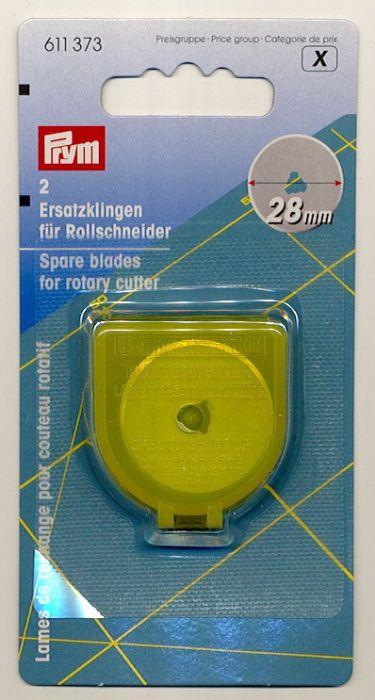 Prym - 2 Replacement Blades 28 mm