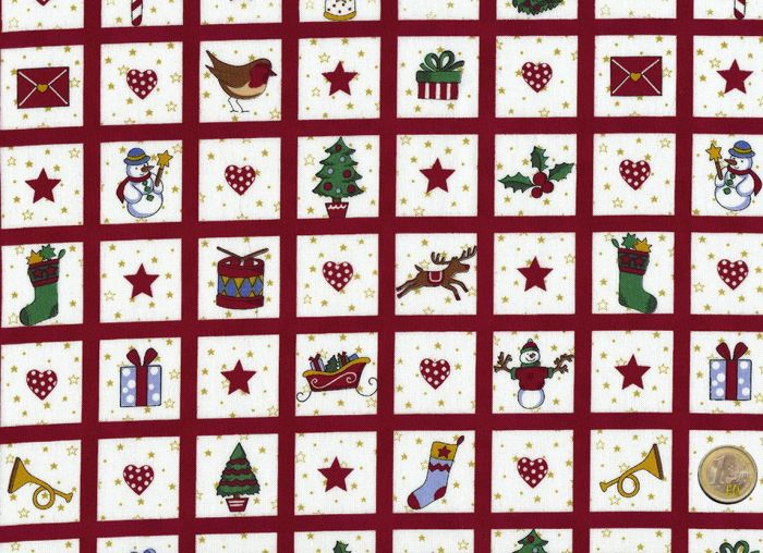 Stof A/S - I love Christmas Style - Minipatches