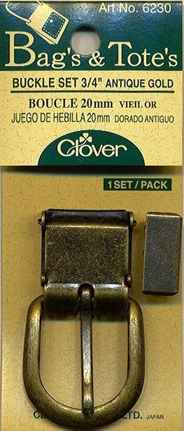 Clover - Schnallen Set