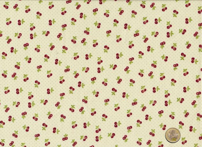 Makower - Tea Time Cherries creme