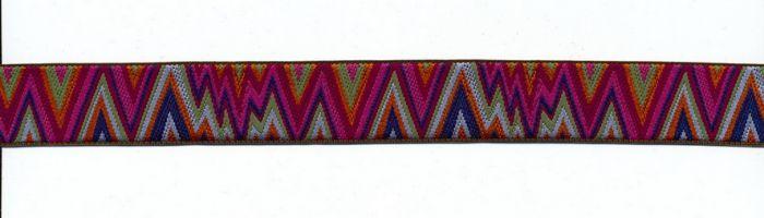 Renaissance Ribbons - Kaffe Fassett Red Flame Stitch