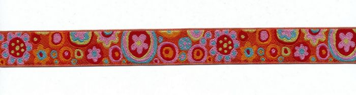 Renaissance Ribbons - Kaffe Fassett Paperweight orange