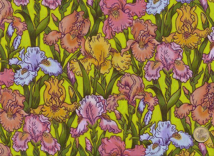 Blank Quilting - Rainbow Iris - Grün