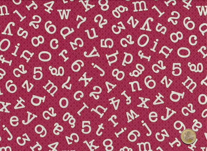 Windham Fabrics - Homeschool - Pink