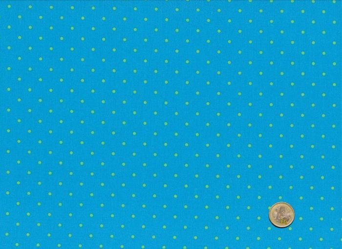 Makower - Teal - Candy Dots