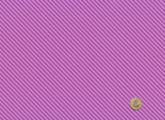 Makower - Grape - Candy Stripes