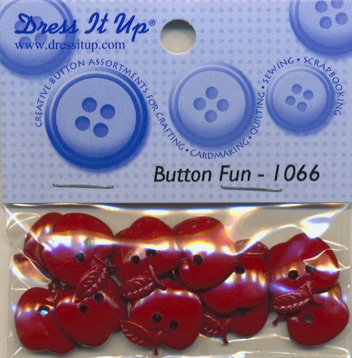 Dress it up Buttons - Äpfel