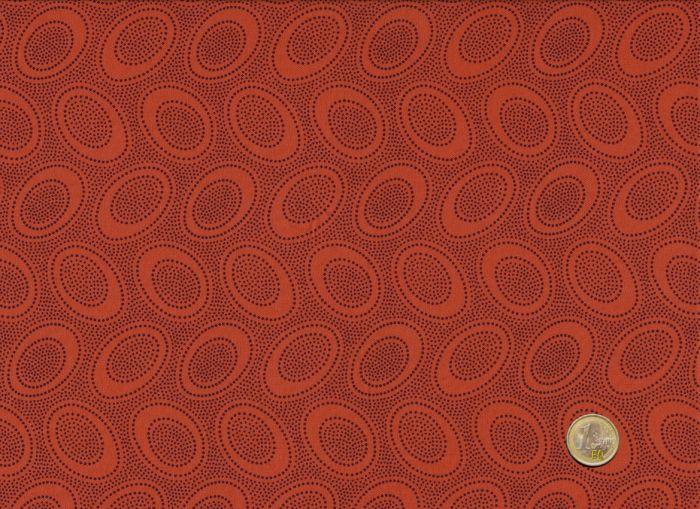 Orange - Aboriginal Dots