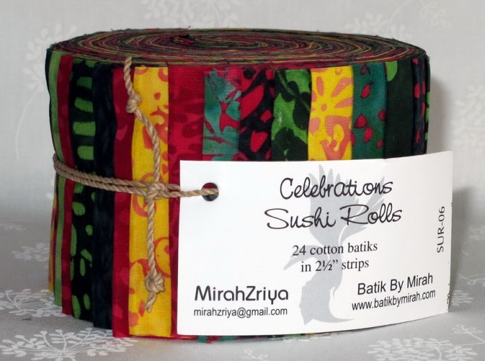 Mirah Zriya - Celebrations - Sushi Roll