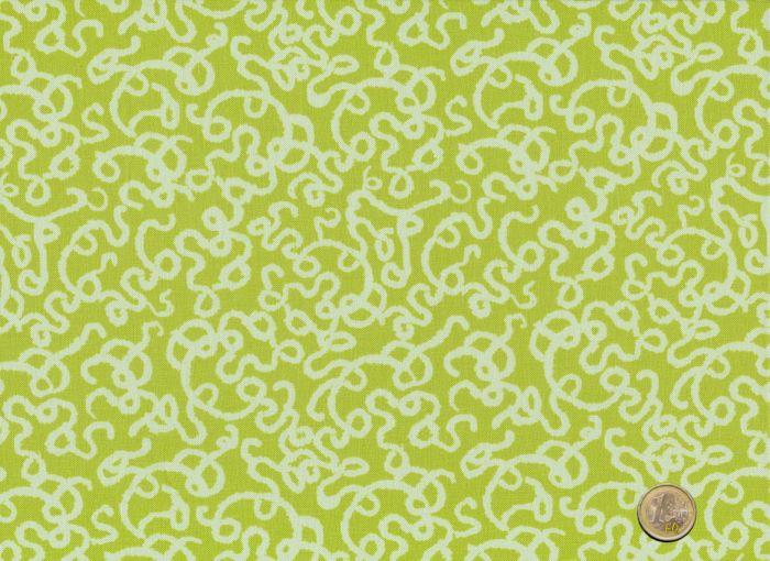 Free Spirit - Memory Lane - Doodle green