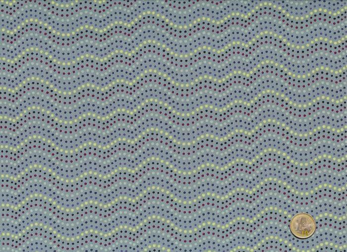 Makower - Walkabout - Dotty Lines - Grau