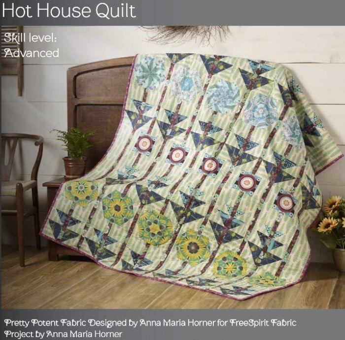 Hot House Quilt - Free Spririt