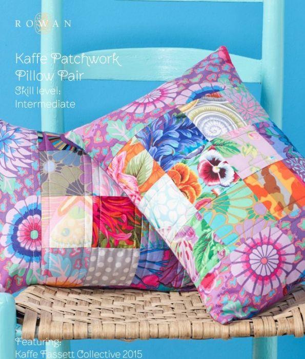 Patchwork Pillow Pair - Kaffe Fasset