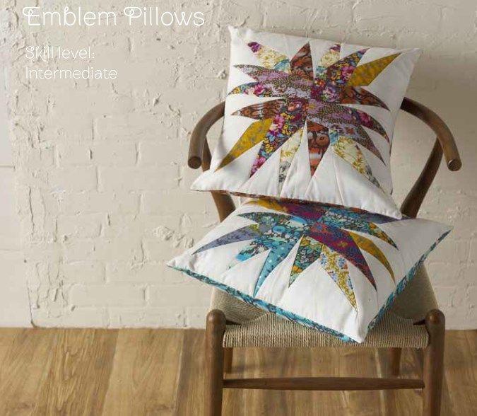 Emblem Pillows - Free Spririt