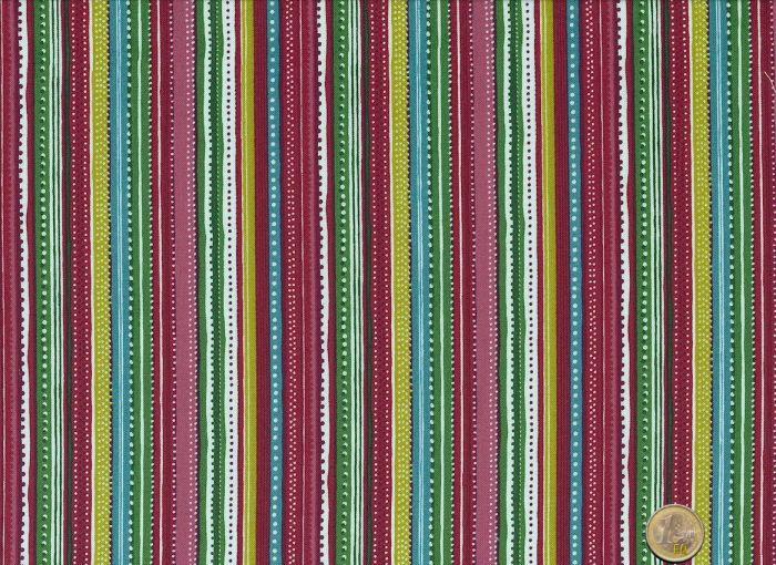 Makower - Festive - Stripes