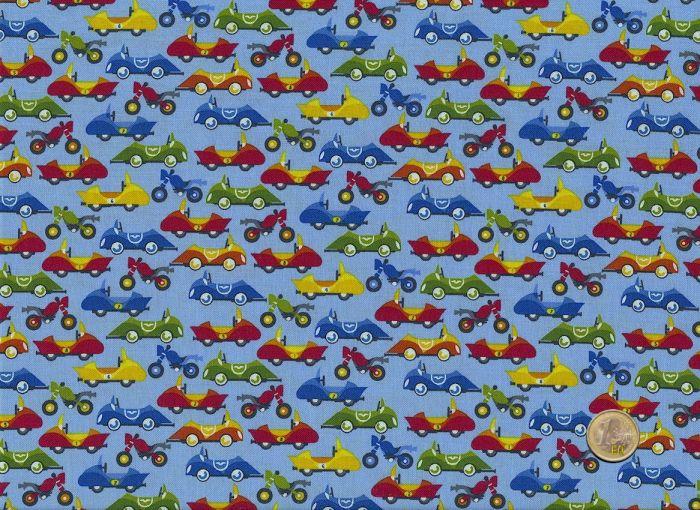 Safari Drive - Studio E - Racingcars blue