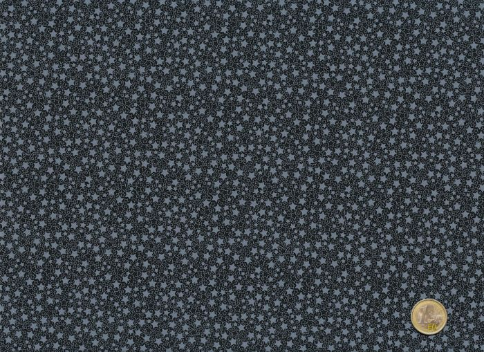 Stof A/S - Quilters Basic Harmony - Sterne schwarz