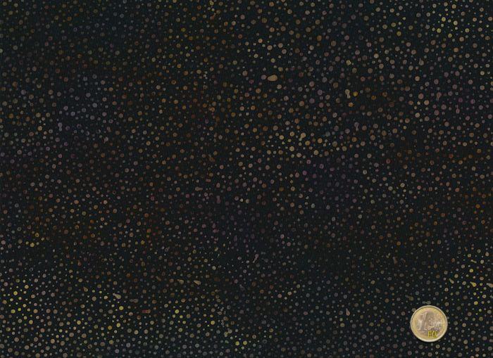 Hoffman Fabics - Bali dots darkbrown