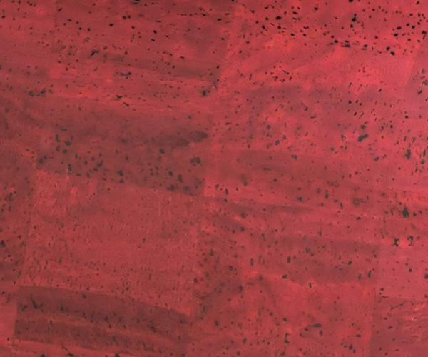 Korkstoff Surface - Weinrot