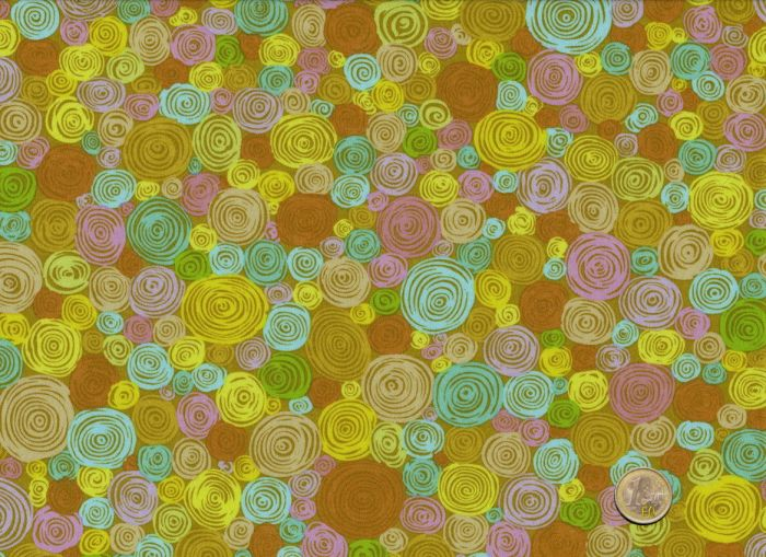 Kaffe Fassett - Yellow - Rolled Paper