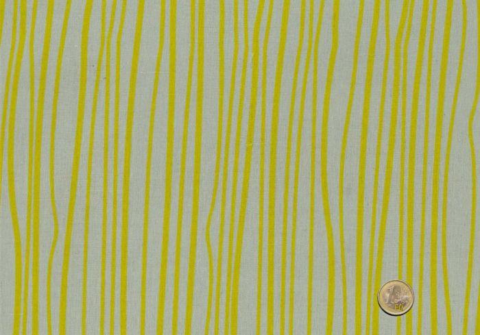 Makower - Alison Glass - Seagrass Streifen gelb