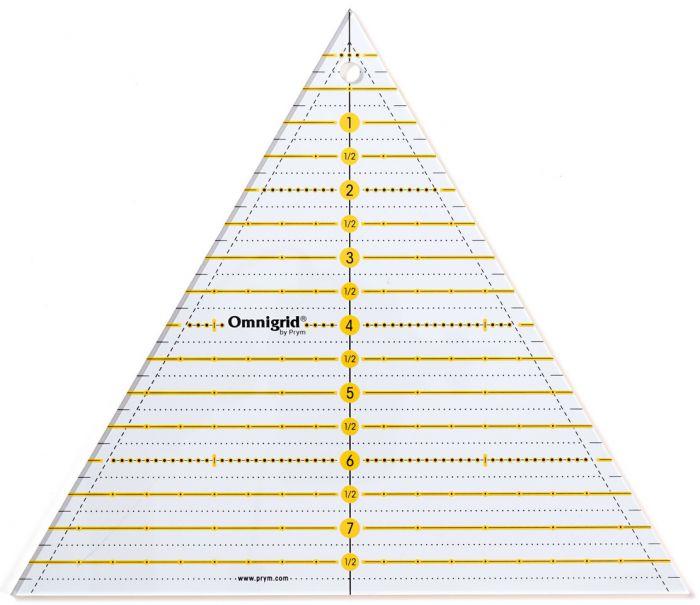 Prym - Omnigrid Lineal Dreieck Multi 8 Inch