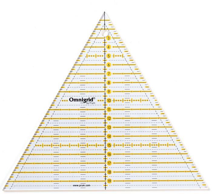 Prym - Omnigrid Lineal Dreieck Multi 20 cm