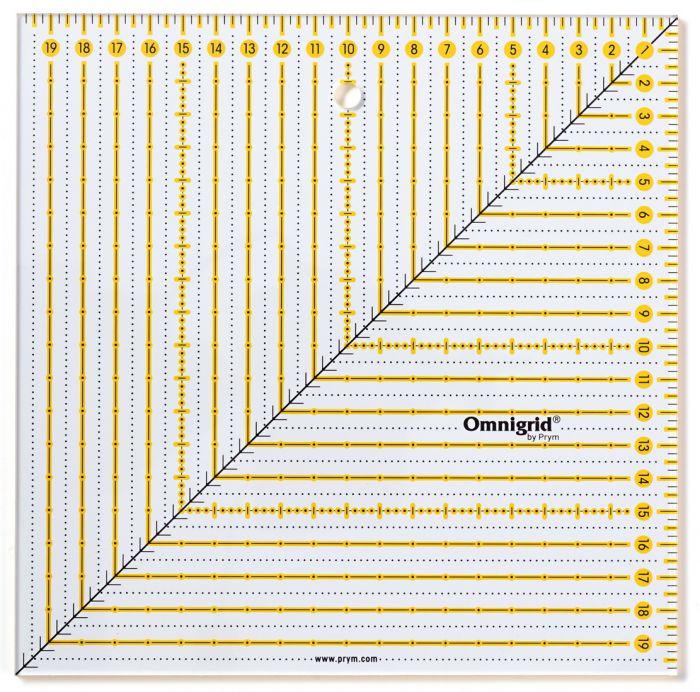 Prym - Omnigrid Quarter 20 x 20 cm