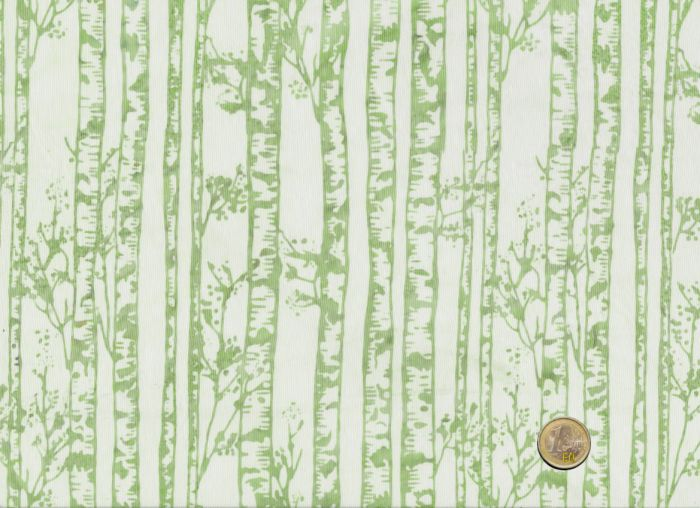 Hoffman Fabrics - Bali Handpaints - Birkenstämme Blassgrün