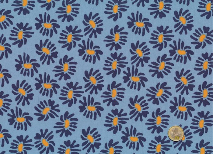 Mez - Blue Blossoms - Nordic Garden Dream