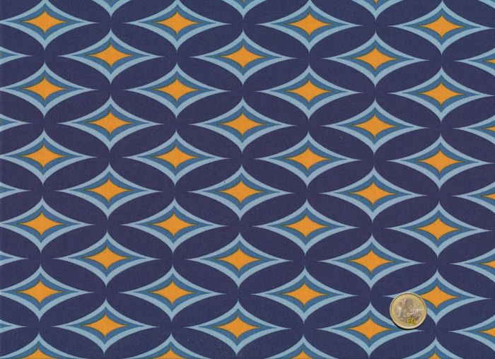 Mez - Blue Ornaments- Nordic Garden Dream