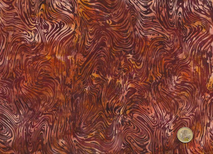 Hoffman Fabrics - Bali Handpaints - Wellen braun