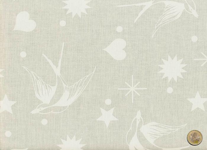 Tula Pink - Linework - Fairy Flakes Creme