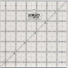 Olfa - Lineal 6,5 x 6,5