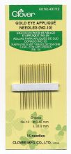 Clover - sewing needles   appliqu? Nr. 10