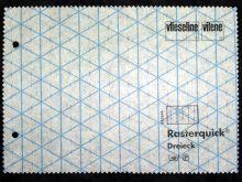 Freudenberg fleece - Rasterquick triangle