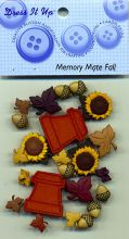 Dress it up Buttons - Memory Mate Fall