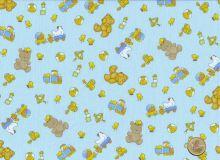 Windham Fabrics - Cutie Pie - Teddybären hellblau