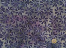 Island Batik - Blossoms purple
