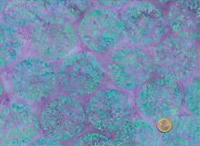 Island Batik - Blüten - Flieder