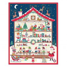 Makower - Santa`s Workshop - Advent calender